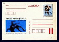 HUNGARY - UNGHERIA - Cart. Post. - 1986 - XXVVa edizione dei Campionati del mond