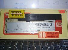 Trains Miniature HO scale Michigan Alkali 40' Reefer Kit