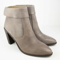 Lucky Brand Nycott Almond Toe Ankle Titanium Boots SIZE 10