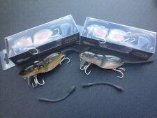 TWO X MUZZA'S Small Rat Lure 89 mm X 20g, Cod, Barra etc. BKK Hooks MUZZAS LURES