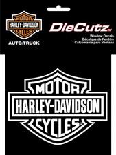 Harley Davidson Die Cutz - White Decal 3614h
