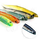 Lot 5pcs 10cm Soft Silicone Plastic Fish Lures Fishing Lure Bait Tackle Colorful