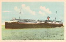 S.S.Noronic,1-Stack Liner,Great Lakes,Canada Steamship Lines,Used,1948