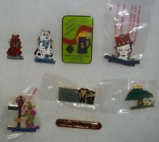 VINTAGE LOT OF 8 LIONS CLUB PINS #A101