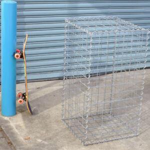 Gabion Cage 525mm L x 525mm W x 975mm H, 75x75x4mm, AL-TEN Garden Bench, Edging