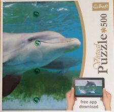 VIRTUAL JIGSAW PUZZLE 500 PIECES DOLPHIN NEW/SEALED BOX FREE DOWNLOAD APP