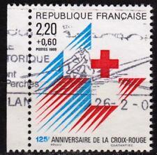 France - 1988 - N° 2555 a oblitéré - Croix rouge