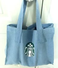 STARBUCKS COFFEE BLUE JEAN TOTE ECO BAG SHOULDER THAILAND GIFT 2016 LE