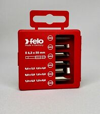 Felo 0715750572 5m-Meter x 0.8 x 6-Inch Slotted Screwdriver 500 Series