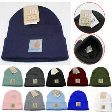 Unisex Carhartt Mens Acrylic Watch Beanie Winter Knit Stocking Cap Warm Hat A18