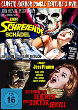 2 Culto Horror LA VIDA DEL LEICHEN DES DR JEKYLL + LOS GRITOS CALAVERA DVD