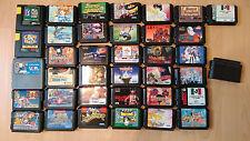 Sammlung japanischer Sega Mega Drive Spiele!