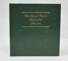 1948-1963 US Mint Complete Regular Franklin Half Dollar Set Higher Grade Coins