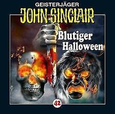 """Preisalarm! * HÖRSPIEL CD * JOHN SINCLAIR """"Blutiger Halloween"""" 42 * NEU & OVP"""