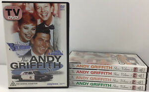 The Andy Griffith Show Volumes 1 2 3 4 5 DVD Family Comedy Sitcom Police Reg All