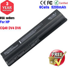 6 Cell Laptop Battery for HP Pavilion DV4 DV5 DV6 G50 G60 G70 HDX16 CQ40 Series