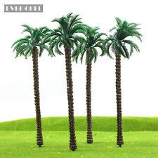 TDT18CN 10pcs Layout Model Train Palm Trees Scale O 18cm Plastic model trees NEW