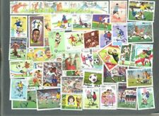 Football Stamps 300 all different collection