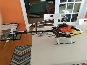 Align Trex 550E  3G and Titan 450 RC helicopter