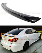 FOR 2006-2013 LEXUS IS 250/350/ ISF F STYLE REAL CARBON FIBER REAR TRUNK SPOILER