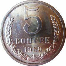 RUSSLAND  KM129a  5 Kopeken 1969 in STG  502324