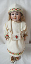 LAUGHING JUMEAU SFBJ 236 Antique French Doll 13 3/4 inches CIRCA 1910