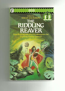 PUFFIN - FIGHTING FANTASY RPG, THE RIDDLING REAVER (1986 1st edition)