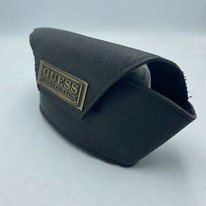 Guess Collection Black Sunglasses Protection Case Bag