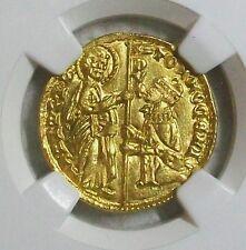 ND(1414-1423) TOMASO MOCENIGO VENICE, ITALY GOLD DUCAT NGC MS-63 L@@K