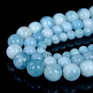 Larimar Quartz Gemstone Grade AAA Round 6MM 8MM 10MM Loose Beads (D27)