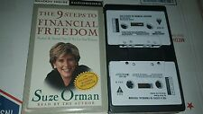 The 9 Steps To Financial Freedom by Suze Orman (Audiobook Cassette)