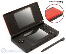 Nintendo DS - Konsole Lite #Crimson Red Black + Stromkabel