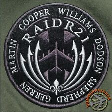 RAIDR21 Memorial Tribute Patch, 20th BS, 96th BS, B-52H Andersen / Barksdale AFB