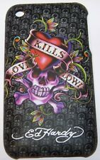 "Coque Qualité Ed Hardy""LOVE KILLS SLOWLY"" iPhone 3G 3GS"
