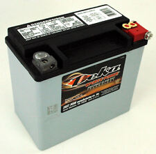 Deka Gel Battery Harley Replacement Softail Dyna Chopper ETX16L Custom Sportster