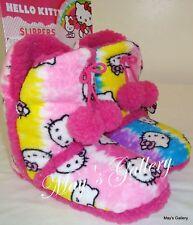 Hello Kitty Slipper Sandal Shoes  Flip Flops 7 /8 M