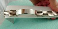 Tiffany & Co Gatelink Gate Link I.D. Bracelet Sterling Silver 66g Rare! w/ Pouch