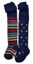 Chaussettes et collants multicolores coton mélangé pour fille de 2 à 16 ans