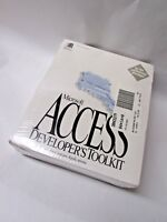 Vintage Microsoft Access Developer's Toolkit Version 2.0 - Sealed New Old Stock