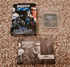 Robocop vs Terminator-Sega Game Gear-OVP & komplett-PAL-schneller Versand!