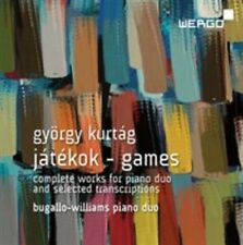 G. Kurtag: Jatekok - Games: Complete Works for Piano Duo and selected transcript
