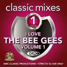 DMC The Bee Gees Vol 1 Megamixes & 2 Tracker Mixes Remixes Ft The Jacksons DJ CD