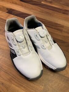 Youth Adidas BOA Twist Dial Bounce Light Weight Spike Golf Shoes - Size 4