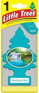 Little Trees Car Air Freshener Rain Forest Mist Car Freshner Corp Pack 24