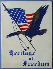 Heritage of Freedom Booklet        Historical Papers & Events       Buchart-Horn