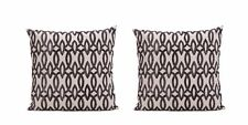 BlackThrow Pillow Cover20x20 Inch! 100% cotton.(set of 2)