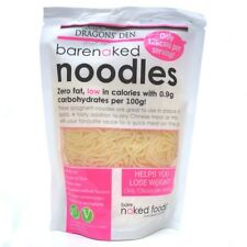 2x 380g Barenaked Gluten Free Noodles Low Calories,Fat, Low Carbohydrates Carbs