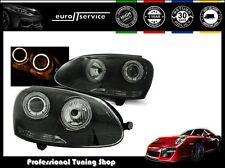 NEUF FEUX AVANT PHARES LPVWH7 VW GOLF 5 2003 2004 2005 2006 2008 2009 ANGEL EYES