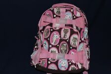 "PotteryBarn Mackenzie Girls Small Backpack Cat NWOT ""KCM"" Free Shipping"
