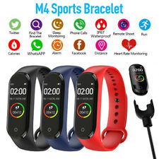 Waterproof Smart Watch Strap Girls Men Women Sports Gym Fitness Health Tracker